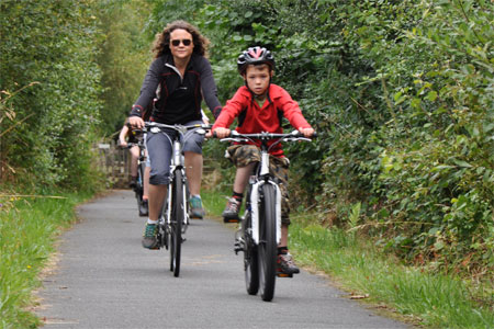Cycling the Elan Valley Trail